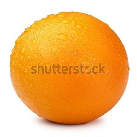 Orange without leaf isolated Stock photo © maxsol7