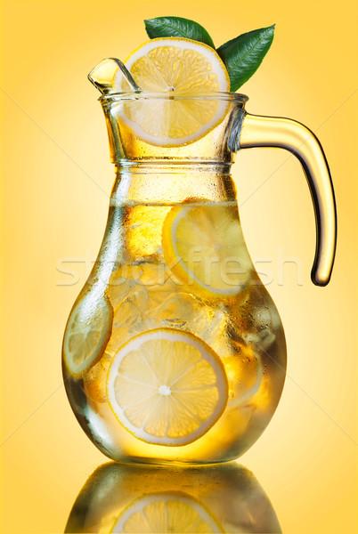 Lemonade pitcher Stock photo © maxsol7