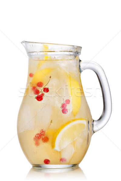 Lemonade pitcher Stock photo © maxsol7