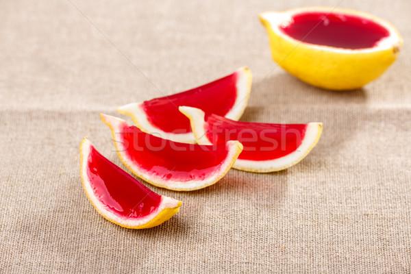Limão tequila morango tabela Foto stock © maxsol7