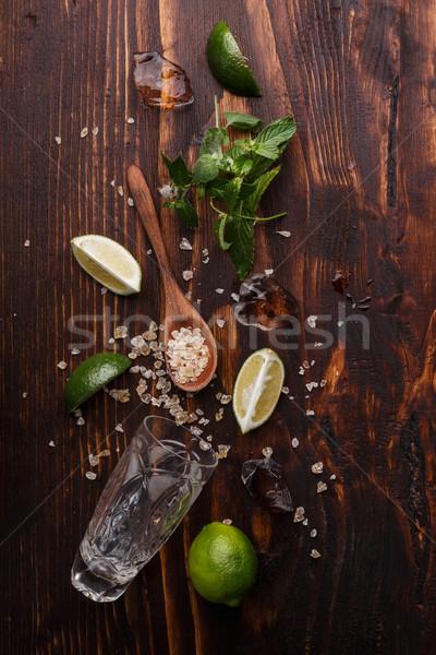 Ingredients for mojito Stock photo © maxsol7