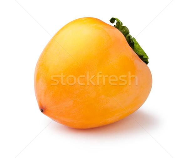 Whole persimmon isolated Stock photo © maxsol7