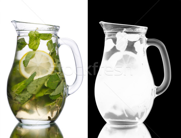 Stockfoto: Mojito · cocktail · mint · vol