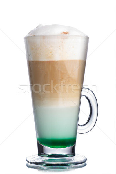 Mint coffee cocktail Stock photo © maxsol7
