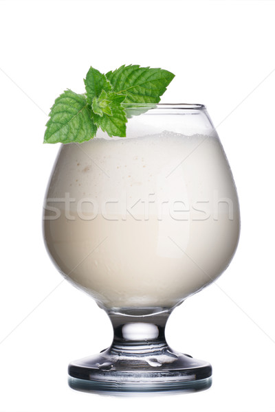 Coffee cocktail with liqueur Stock photo © maxsol7