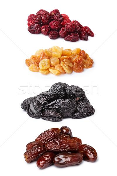 Set of dried fruits Stock photo © maxsol7