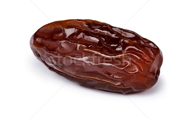 Dried date fruit isolated Stock photo © maxsol7