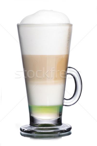 Coffee cocktail Stock photo © maxsol7