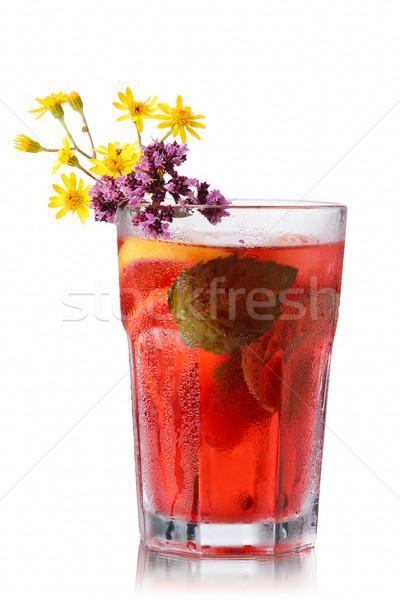 Strawberry mojito Stock photo © maxsol7