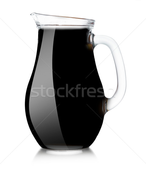 Black pitcher mockup Stock photo © maxsol7
