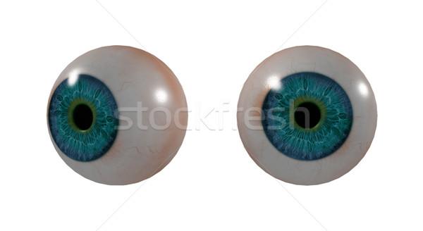 3D medische illustratie oog abstract ontwerp Stockfoto © maya2008