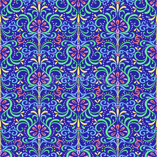 Patroon bloemen pittoreske naadloos abstract Stockfoto © Mayamy