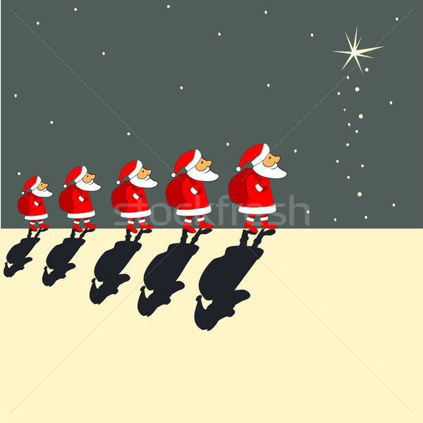 Santa Clauses Stock photo © Mayamy