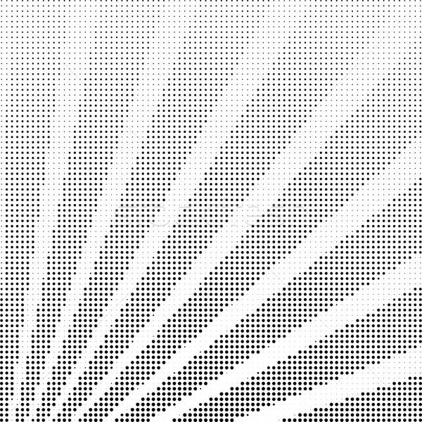 Vector halftoon stralen monochroom vorm balk Stockfoto © Mayamy