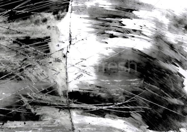 Grunge textuur achtergrond frame kunst zwarte Stockfoto © Mayamy