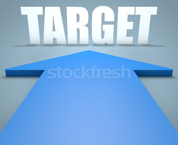 Stock photo: Target