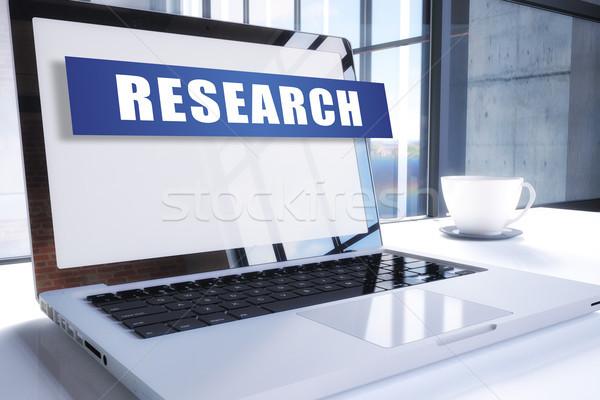 Research Stock photo © Mazirama