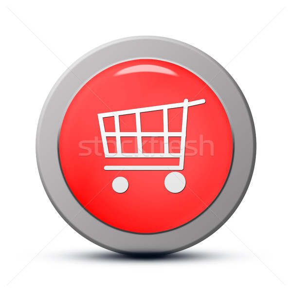 Purchasing cart icon Stock photo © Mazirama