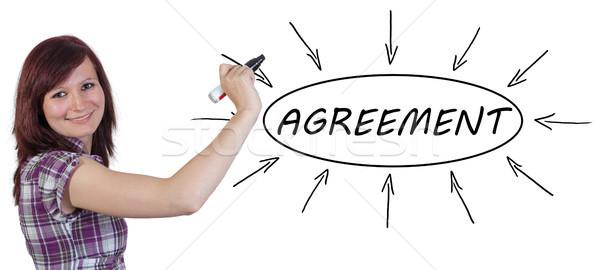 Agreement Stock photo © Mazirama