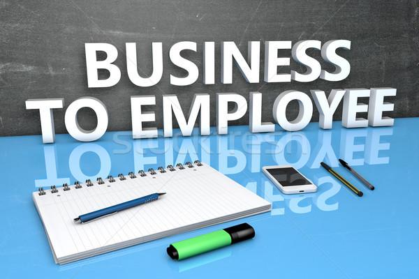 Business to Employee Stock photo © Mazirama