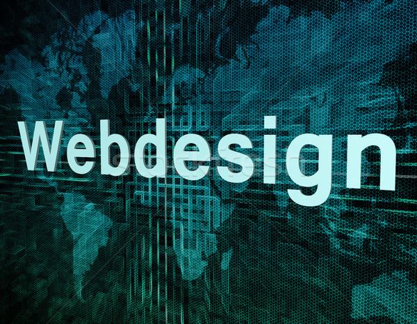 Webdesign Stock photo © Mazirama