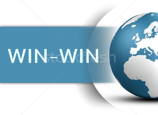 Win-Win Stock photo © Mazirama
