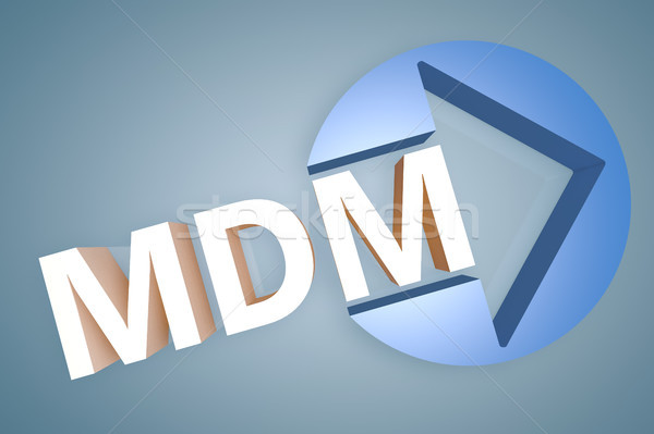 Hareketli yönetim kısaltma 3d render örnek Stok fotoğraf © Mazirama