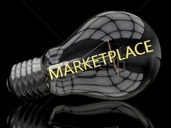 Marketplace Stock photo © Mazirama