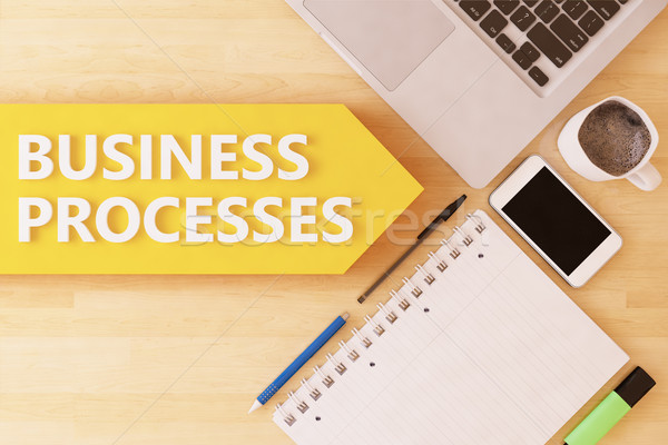 Stock photo: Business Processes