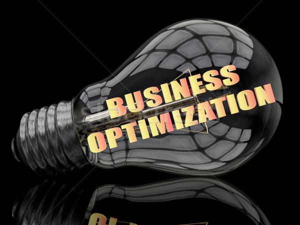 Business Optimization Stock photo © Mazirama