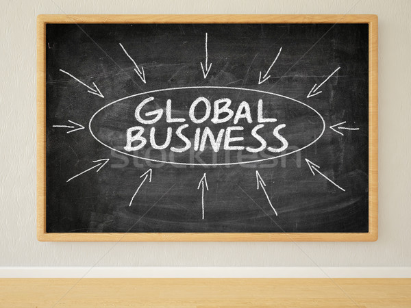 Global Business Stock photo © Mazirama
