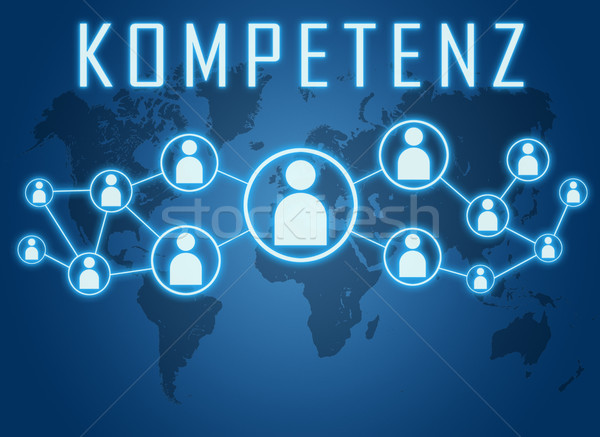 Kompetenz text concept Stock photo © Mazirama
