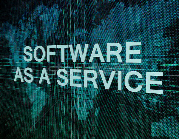Software as a Service Stock photo © Mazirama