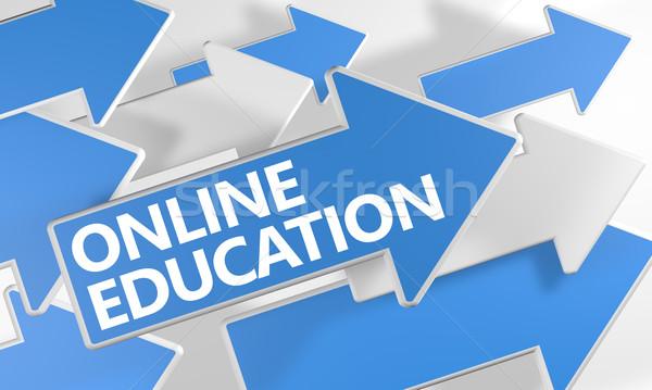 Stock photo: Online Education