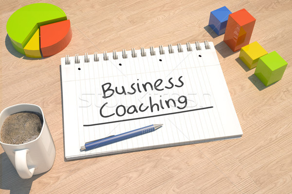 Business Coaching Stock photo © Mazirama