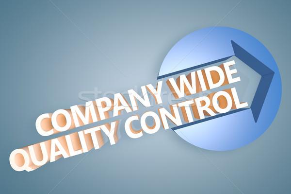 会社 広い 品質管理 3dテキスト レンダー 実例 ストックフォト © Mazirama