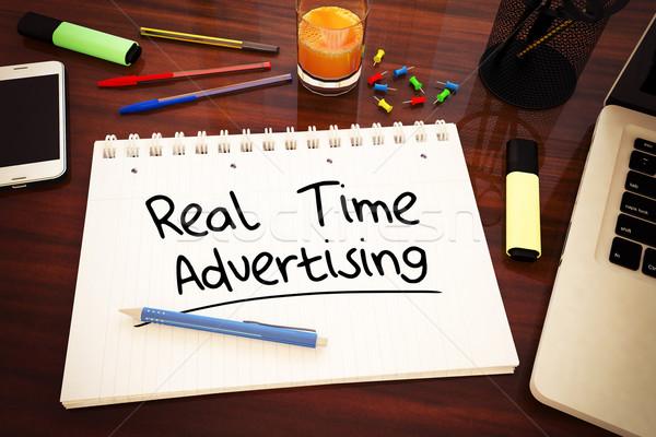 Real Time Advertising Stock photo © Mazirama