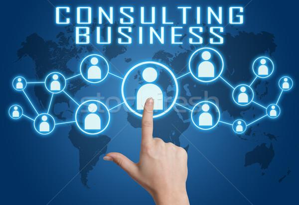 Consulting Business Stock photo © Mazirama