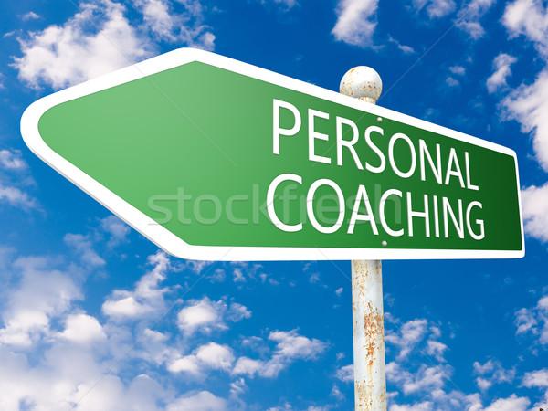 Personal Coaching Stock photo © Mazirama
