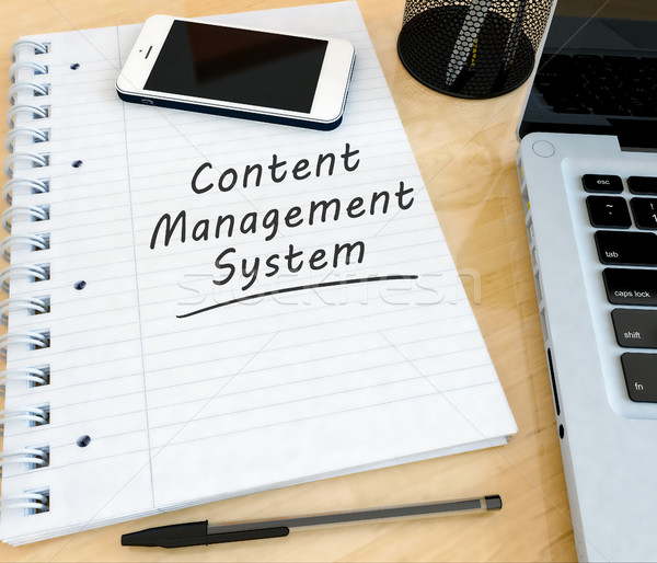 Content Management System Stock photo © Mazirama