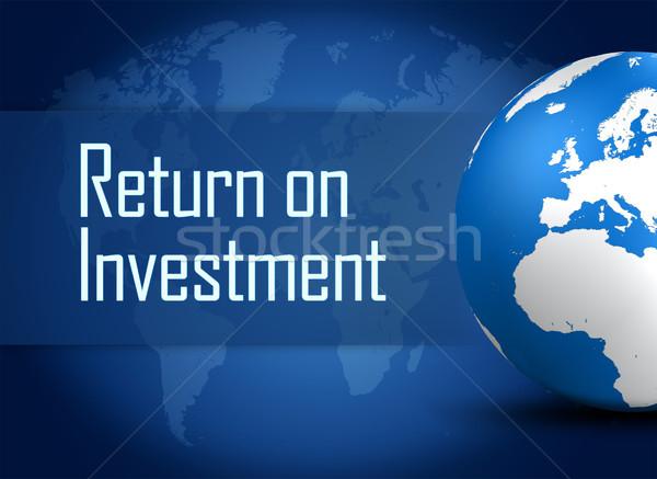 Return on Investment Stock photo © Mazirama