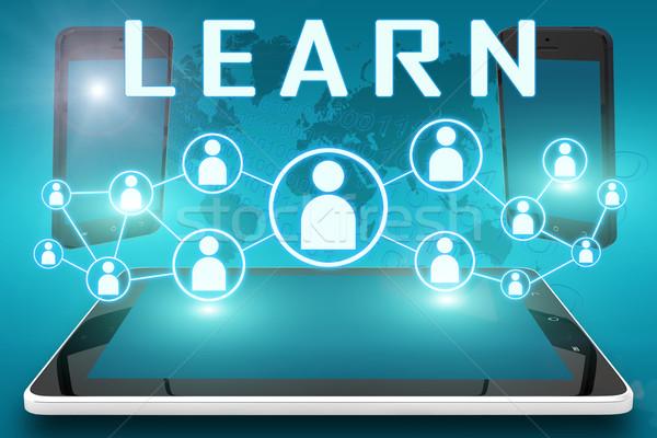 Learn Stock photo © Mazirama