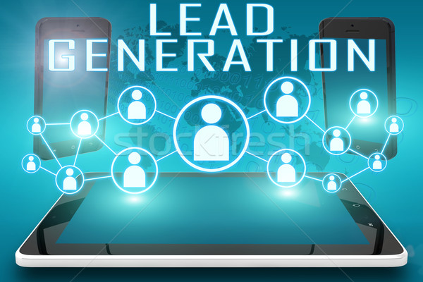 Stock photo: Lead Generation