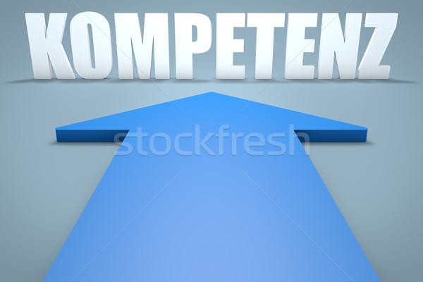 Kompetenz Stock photo © Mazirama