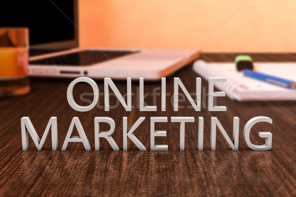 Online Marketing Stock photo © Mazirama