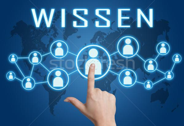Wissen text concept Stock photo © Mazirama