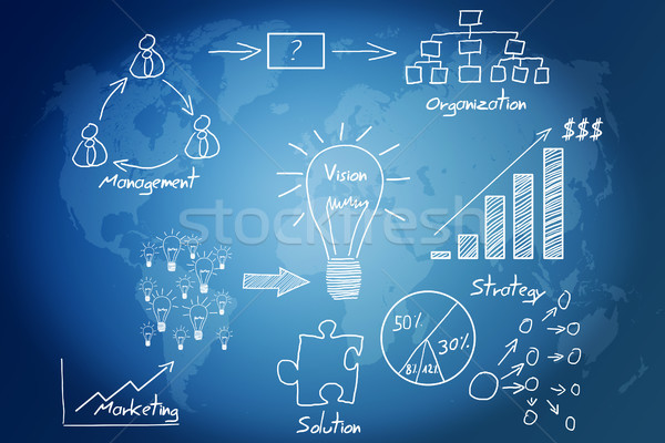 Stock photo: business idea concept