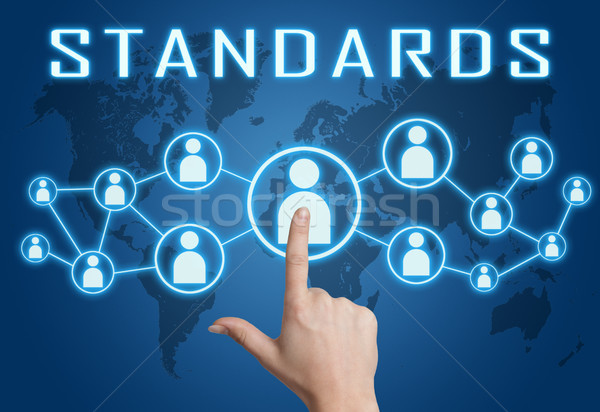 Standards text concept Stock photo © Mazirama
