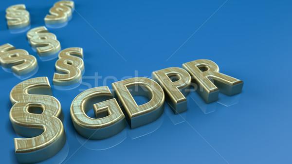 GDPR Concept Stock photo © Mazirama