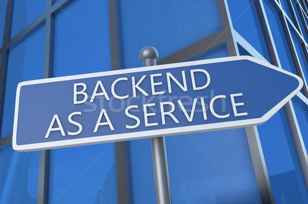 Backend as a Service Stock photo © Mazirama